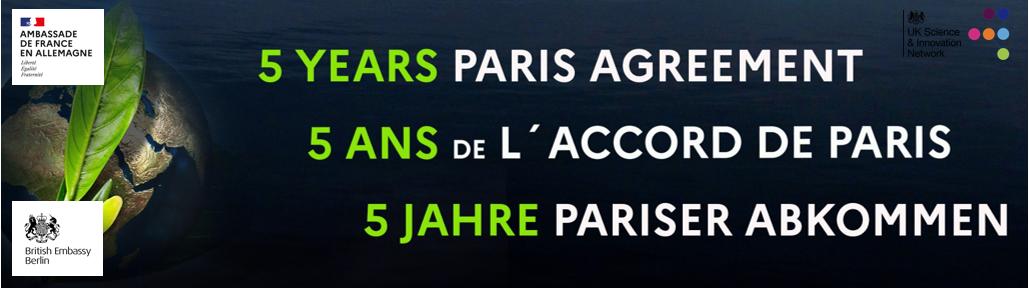 Woche der Feierlichkeiten zum 5. Jahrestag des Pariser Klimaübereinkommens