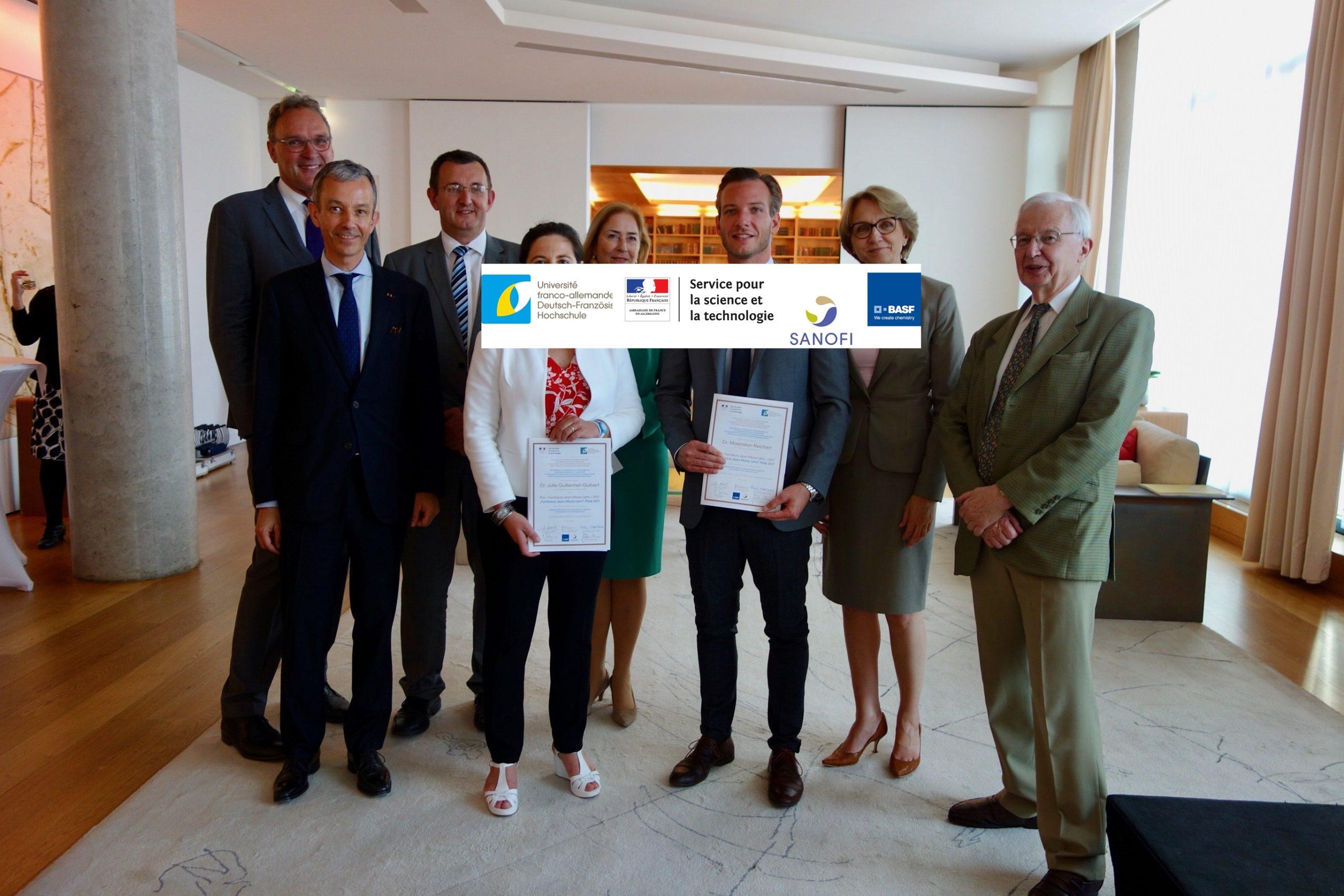 Bewerbungsaufruf 2021: PREIS FORCHEURS JEAN-MARIE LEHN für deutsch-französische Kooperationen zwischen Nachwuchsforschern